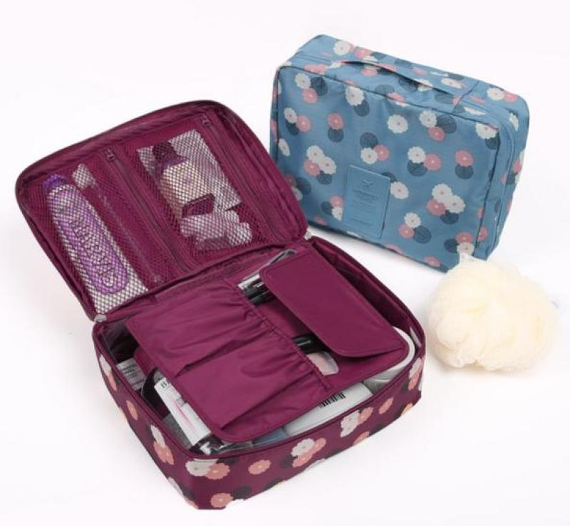 Túi đựng đồ trang điểm du lịch cá nhân Hàn Quốc nhập khẩu