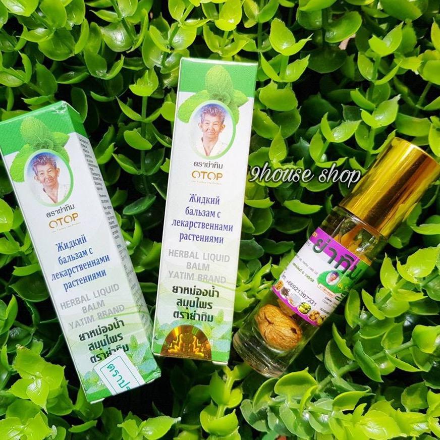 Hình ảnh 5 Chai Dầu Nhân Sâm 16 Vị Thảo Dược (nội địa Thái Lan) - Otop Yatim Brand (8cc x5chai)