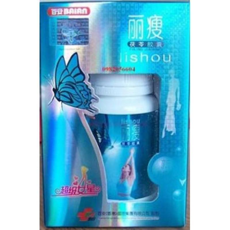 Lishou xanh hộp 40 viên giúp dáng đẹp, eo thon. CHÍNH HÃNG cao cấp
