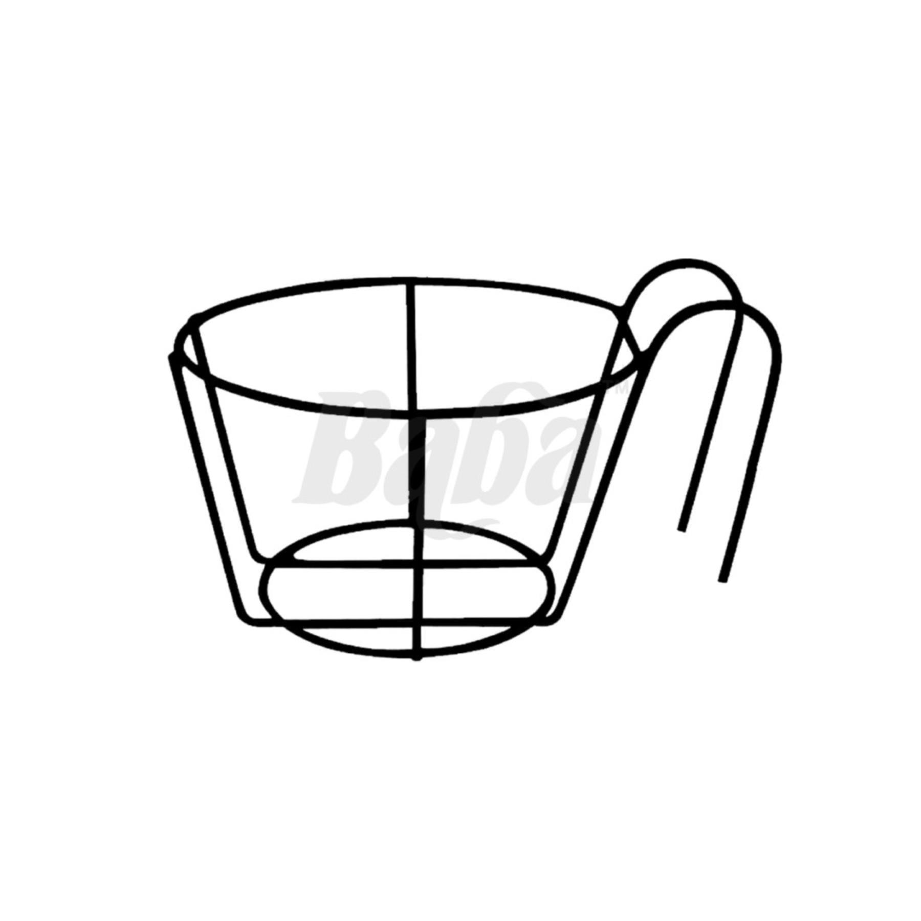 KHUNG SẮT TREO CHẬU HOA BABA WH-67-3 HÀNG NHẬP KHẨU MALAYSIA KHÔNG RỈ