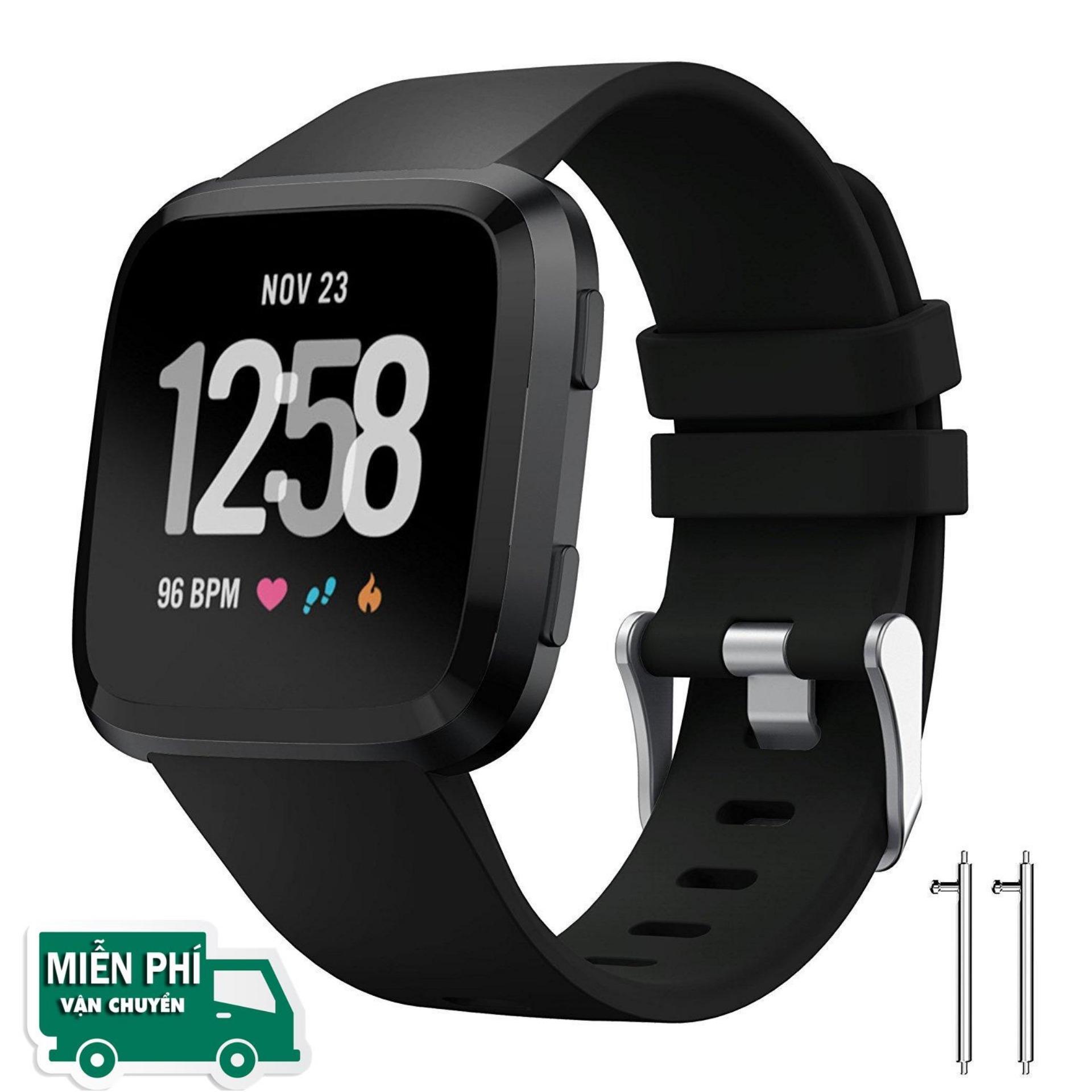 Hình ảnh Dây đeo thay thế Silicon Fitbit Versa Size L