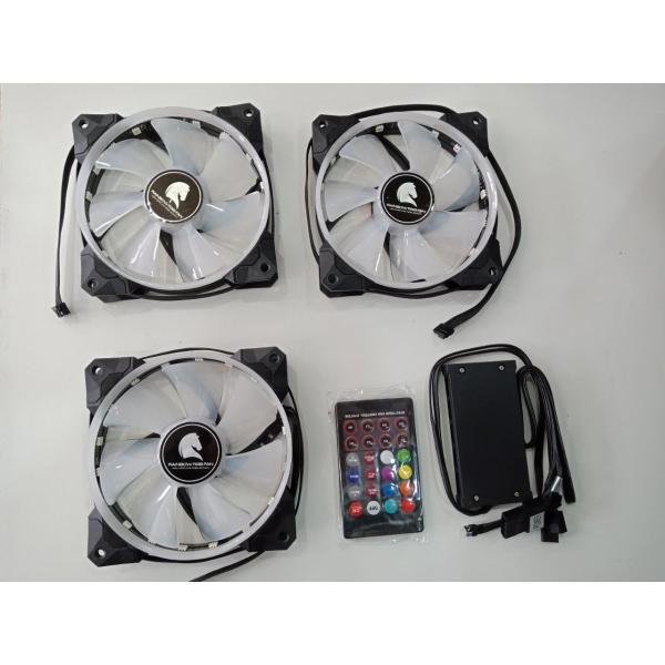 Bảng giá Quạt tản nhiệt Case SAMA ESPORT V2 RGB ( 3 pcs/pack ) Phong Vũ