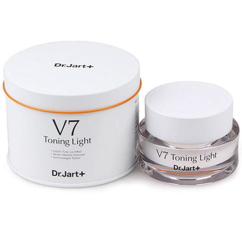 Kem Đêm Dưỡng Trắng Tái Tạo Da V7 Toning Light Hàn Quốc 50ml