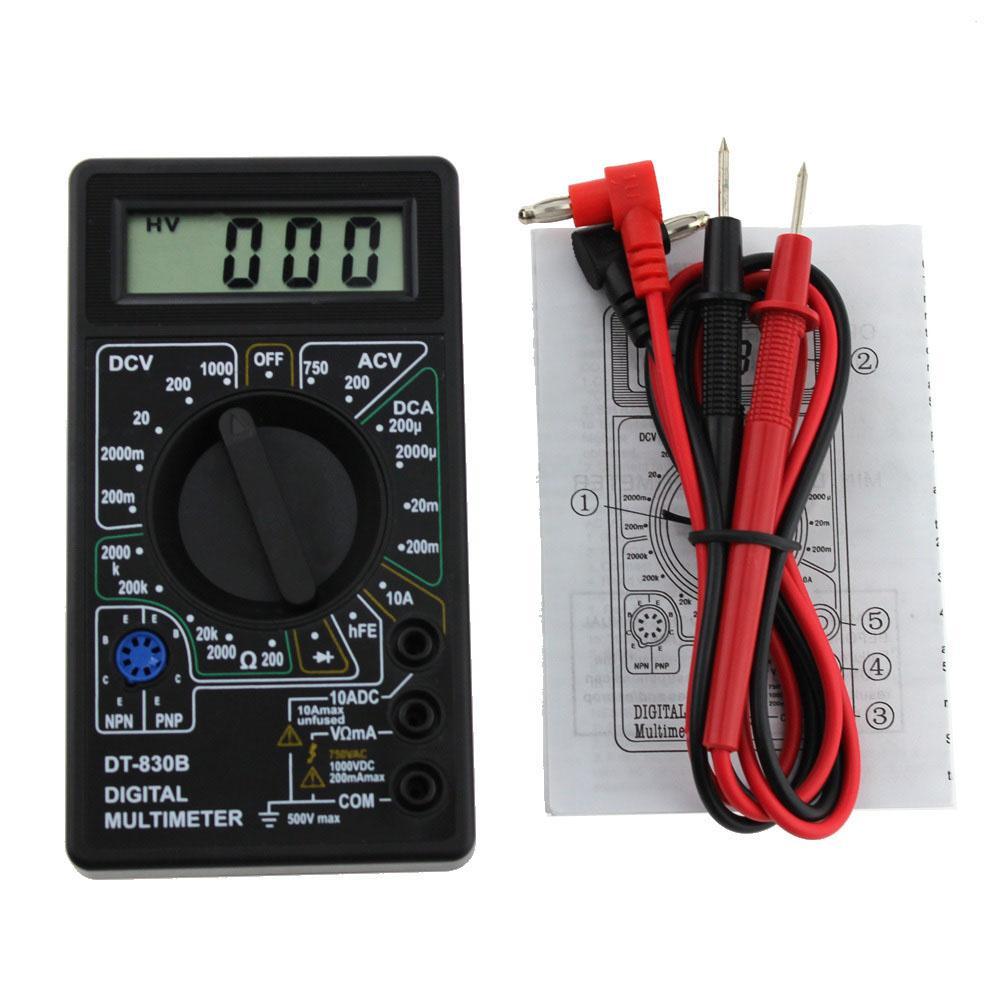 Đồng hồ đo vạn năng cho thợ điện tử DT-830B (TD)