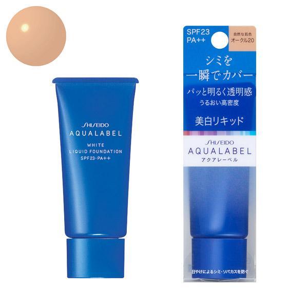 Chiết Khấu Kem Nền Chống Nắng Shiseido Aqualabel White Liquid Foundation Spf23 Pa 25G Số 20 Hà Nội