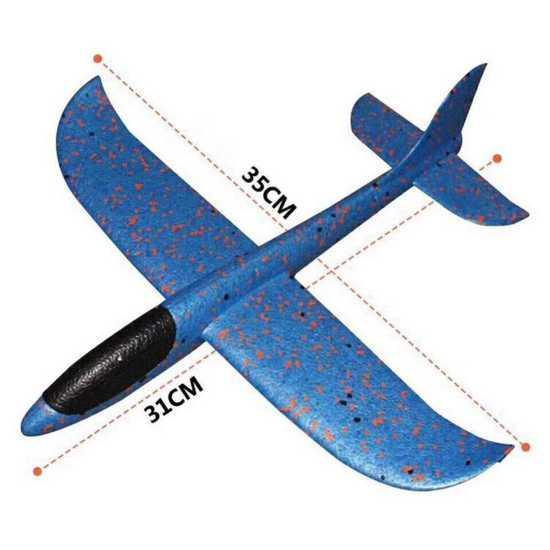 Hình ảnh Máy bay xốp tiêm kích phi tay loại nhỏ [ 31cm * 35cm ]-LUX