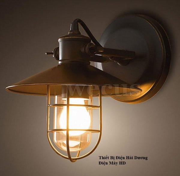 Đèn treo tường gắn tường tân cổ điển phòng nổ PA01 (Đen) - Có video hướng dẫn - Bảo hành 1 năm - Energy Green Lighting