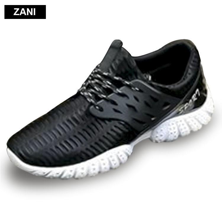 Giá Bán Giay Sneaker Thể Thao Nam Zani Zn5208Bw Đen Trắng Mới