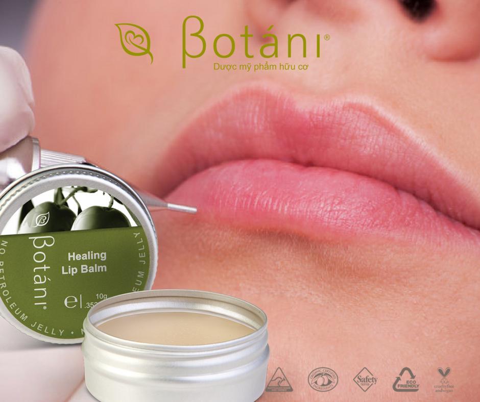 Son Dưỡng Môi Botani Healing Lip Balm 10g tốt nhất