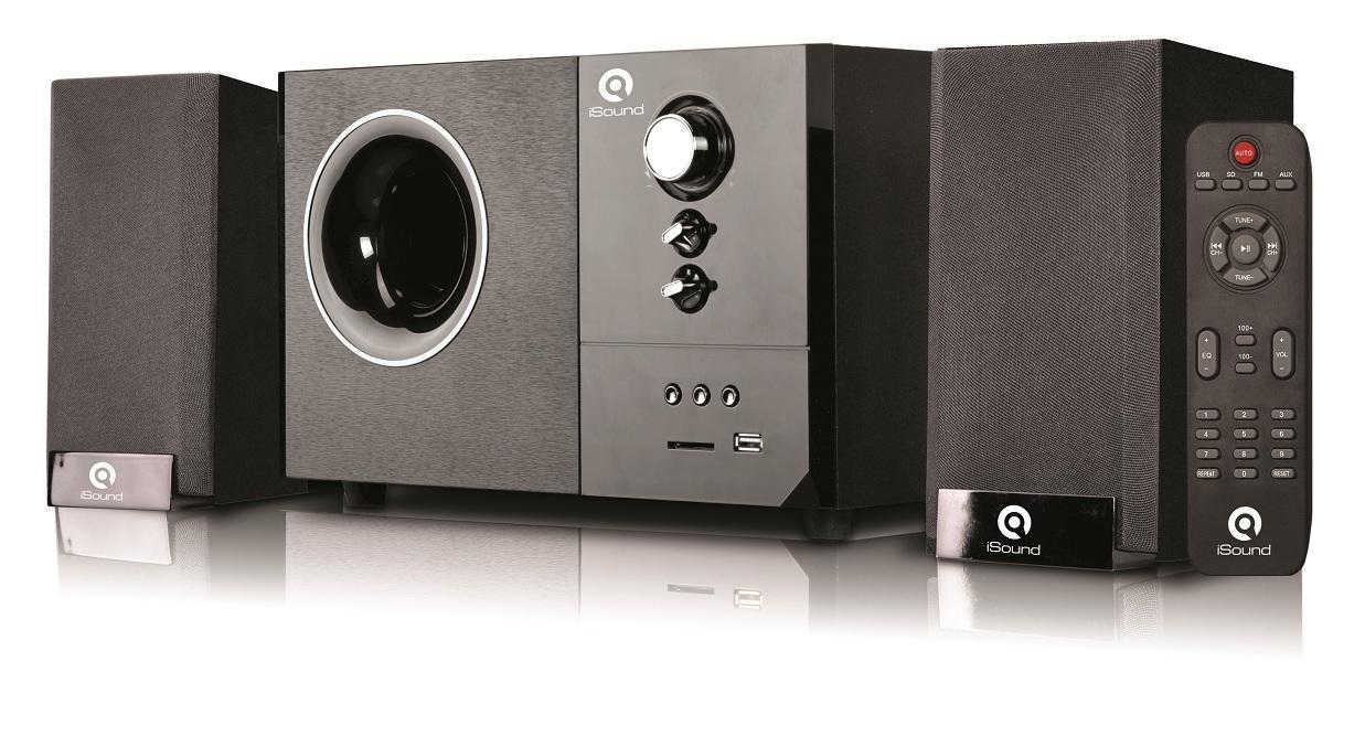 Bảng giá Loa iSound SP255 2.1 (USB, Thẻ SD, FM) Phân phối chính hãng Phong Vũ