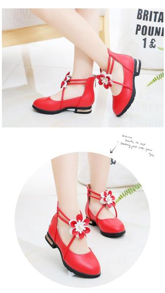 Giá bán Giày dép cho bé gái dây đính hoa-33BB123