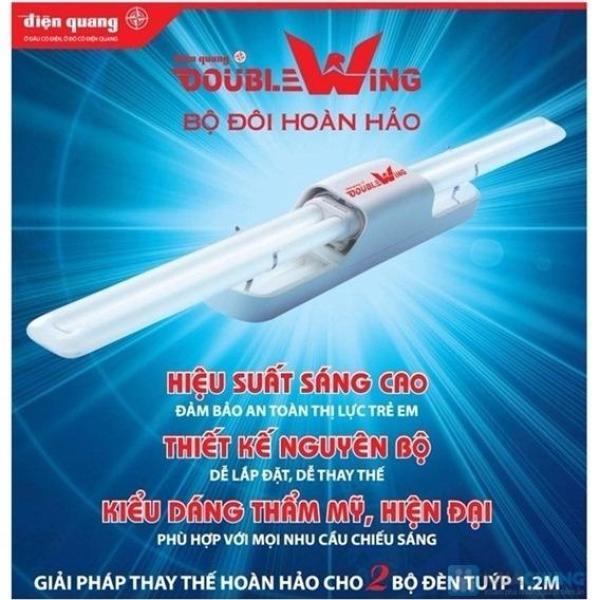 Bộ đèn Doublewing Điện Quang ĐQ DW 236D 2x36W - Điện Việt