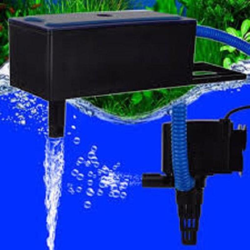 Máy lọc nưóc RS188 + 1 miếng bông lọc giúp bể cá cảnh luôn trong sạch