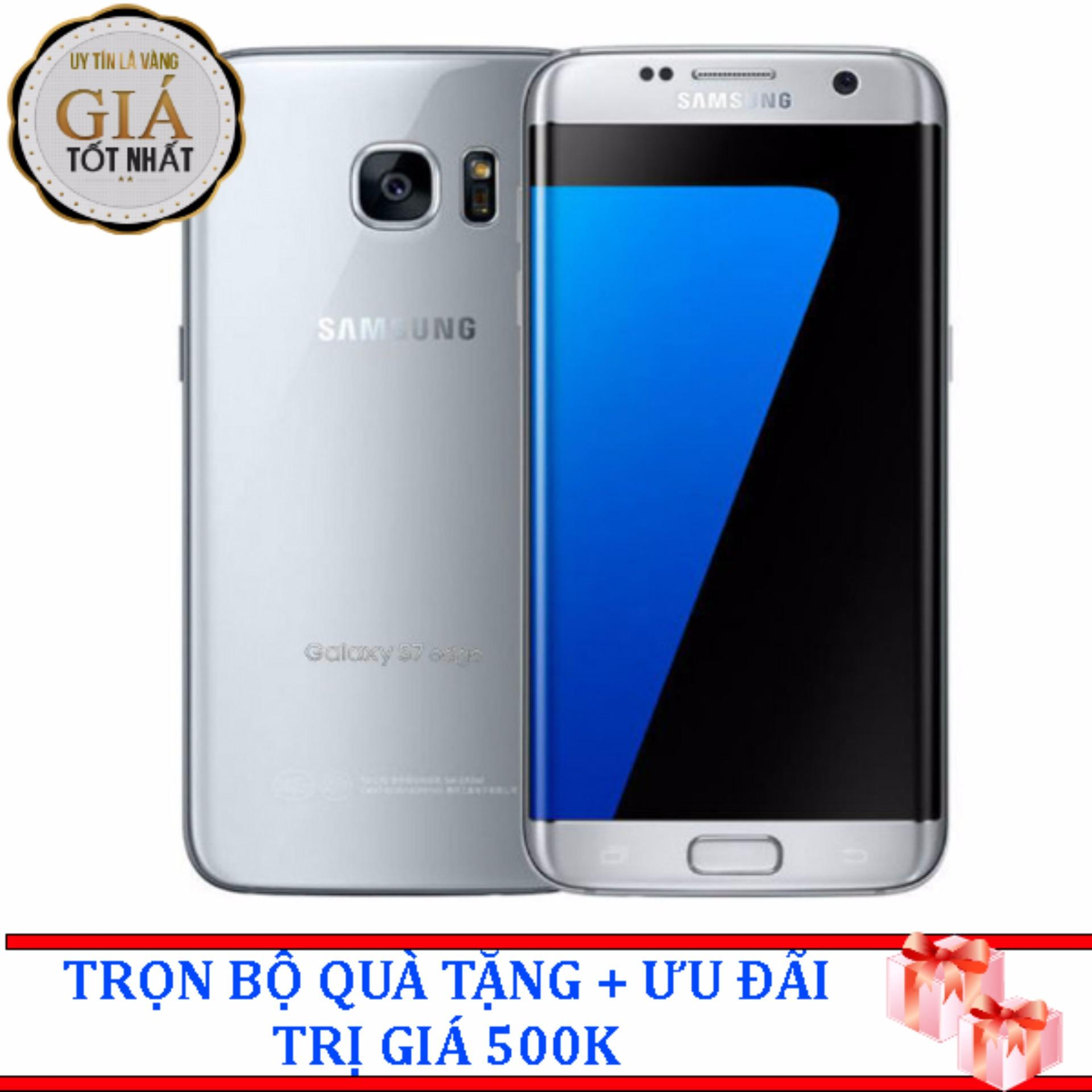 Bán Mua Trực Tuyến Samsung Galaxy S7 Edge 32Gb Bạc Hang Nhập Khẩu