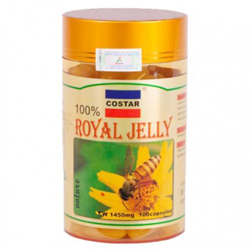 Sữa Ong Chúa Royal Jelly Soft Gel Capsules 1450mg (100 viên)