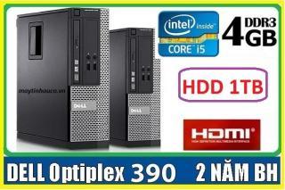 Máy tính để bàn đồng bộ Dell optiplex 390 ( Core i5 4G 1000G ),Có HDMI , Tặng USB wifi , Dây HDMI bàn di chuột - Hàng Nhập Khẩu thumbnail