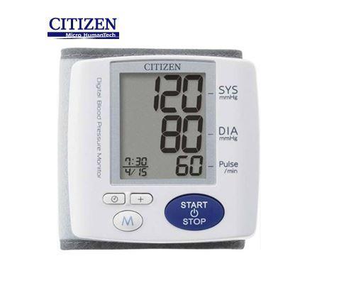 Máy đo huyết áp điện tử cổ tay tự động Citizen (Japan) - CH617 nhập khẩu