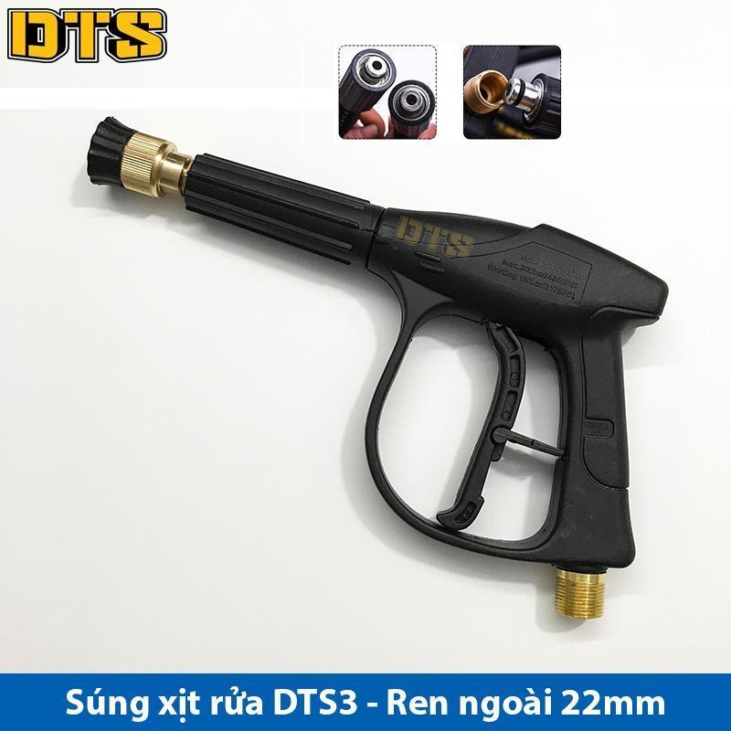 Bảng giá Súng xịt - súng rửa xe áp lực cao DTS3 Ren ngoài 22mm