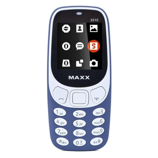 Điện thoại di động MAXX N3310 Classic 2 Sim ( Xanh Đen)