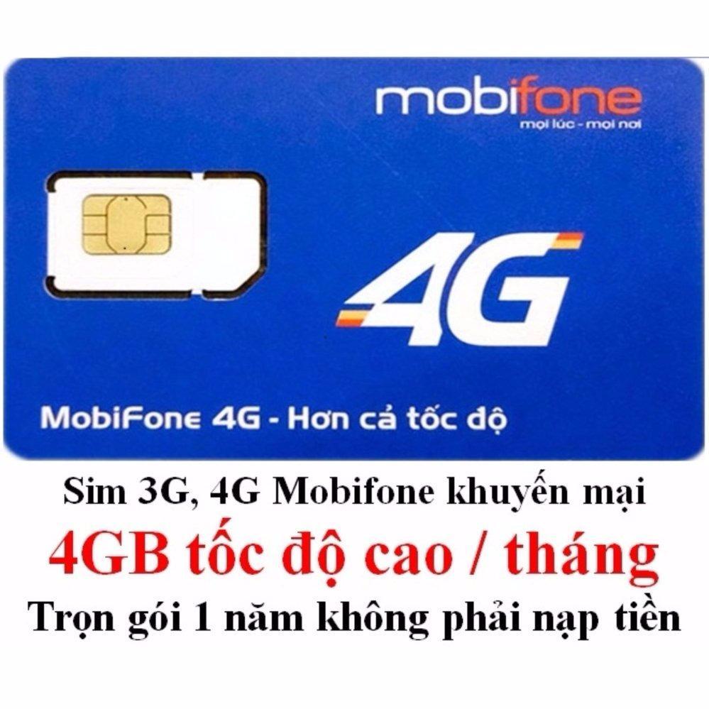 Giá Bán Sieu Hot Sim 4G Data Mobifone Mdt250A Trọn Goi Khong Cần Nạp Tiền 1 Năm Trong Việt Nam