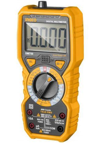 Đồng hồ đo điện vạn năng INGCO DM750