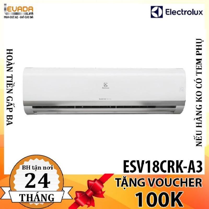 Bảng giá (ONLY HCM) Máy Lạnh Inverter Electrolux ESV18CRK-A3