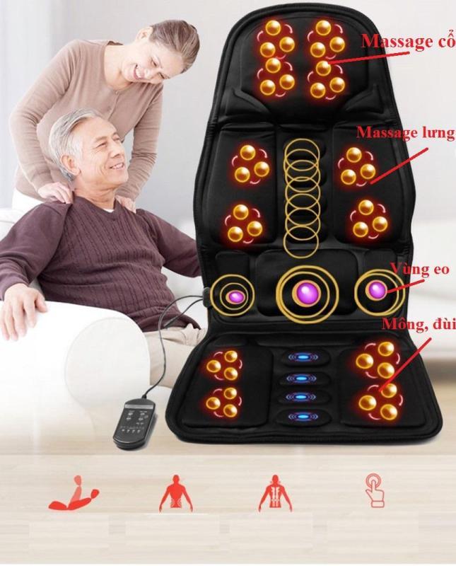 Ghe Massage Toan Than, Máy Massage Lưng Giá Rẻ, Máy massage hồng ngoại-310P-giúp bạn xua tan mọi mệt mỏi, đau nhức vai gáy, đau lưng, đau cơ, lưu thông tuần hoàn máu-BH 12 tháng