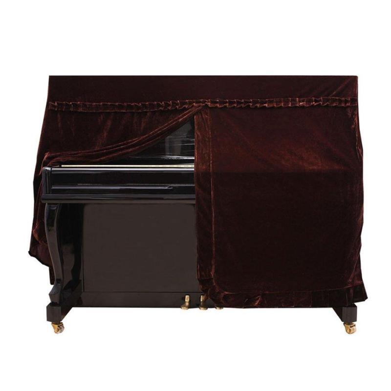 E-ERA Pleuche phủ đàn Piano nhung chống bụi tay