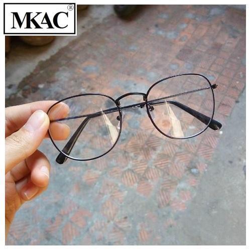 Hình ảnh Mắt kính Ngố Nobita Không độ thời trang - MKAC (Đen)