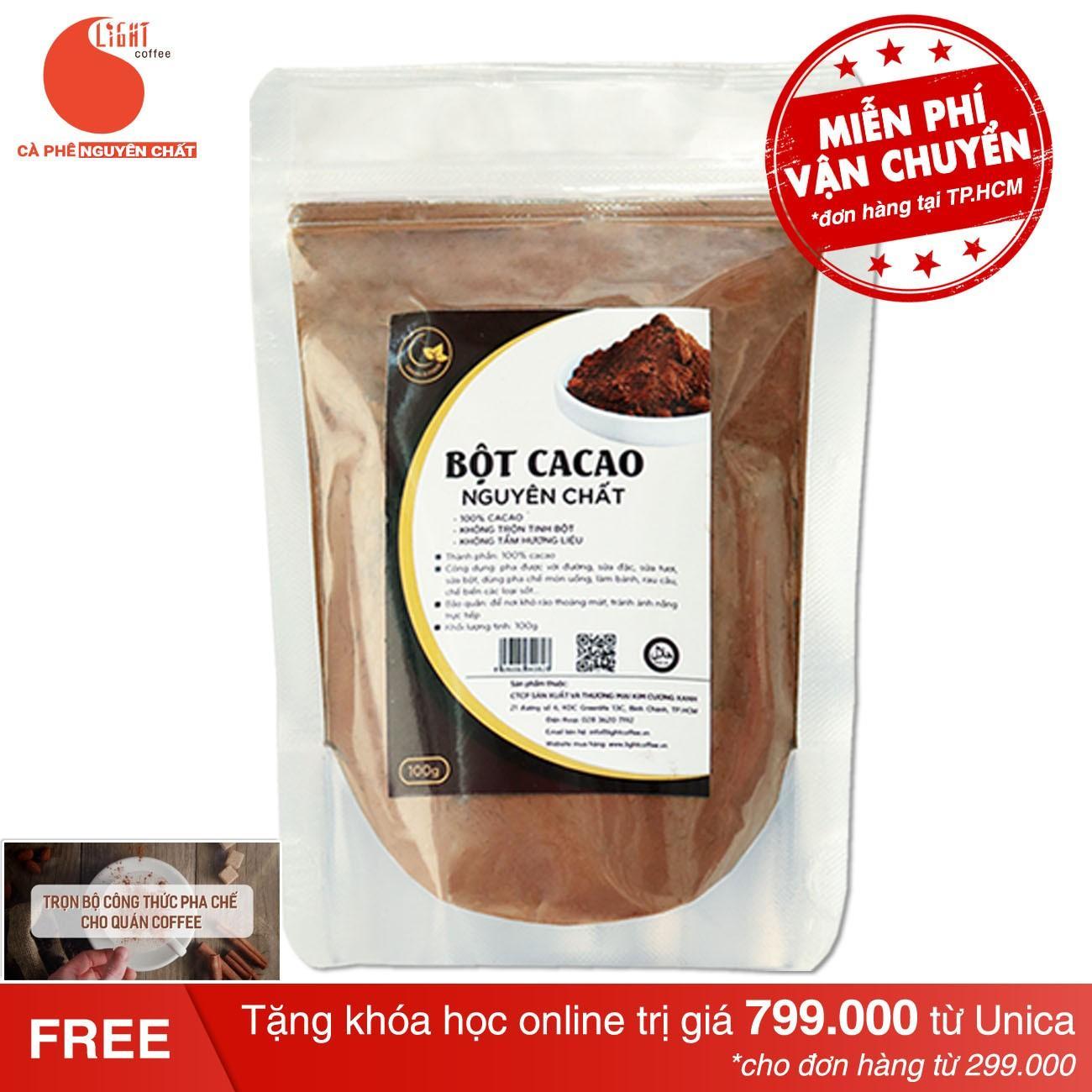 Hình ảnh Cacao nguyên chất 100% - Light Ca cao - 100gr