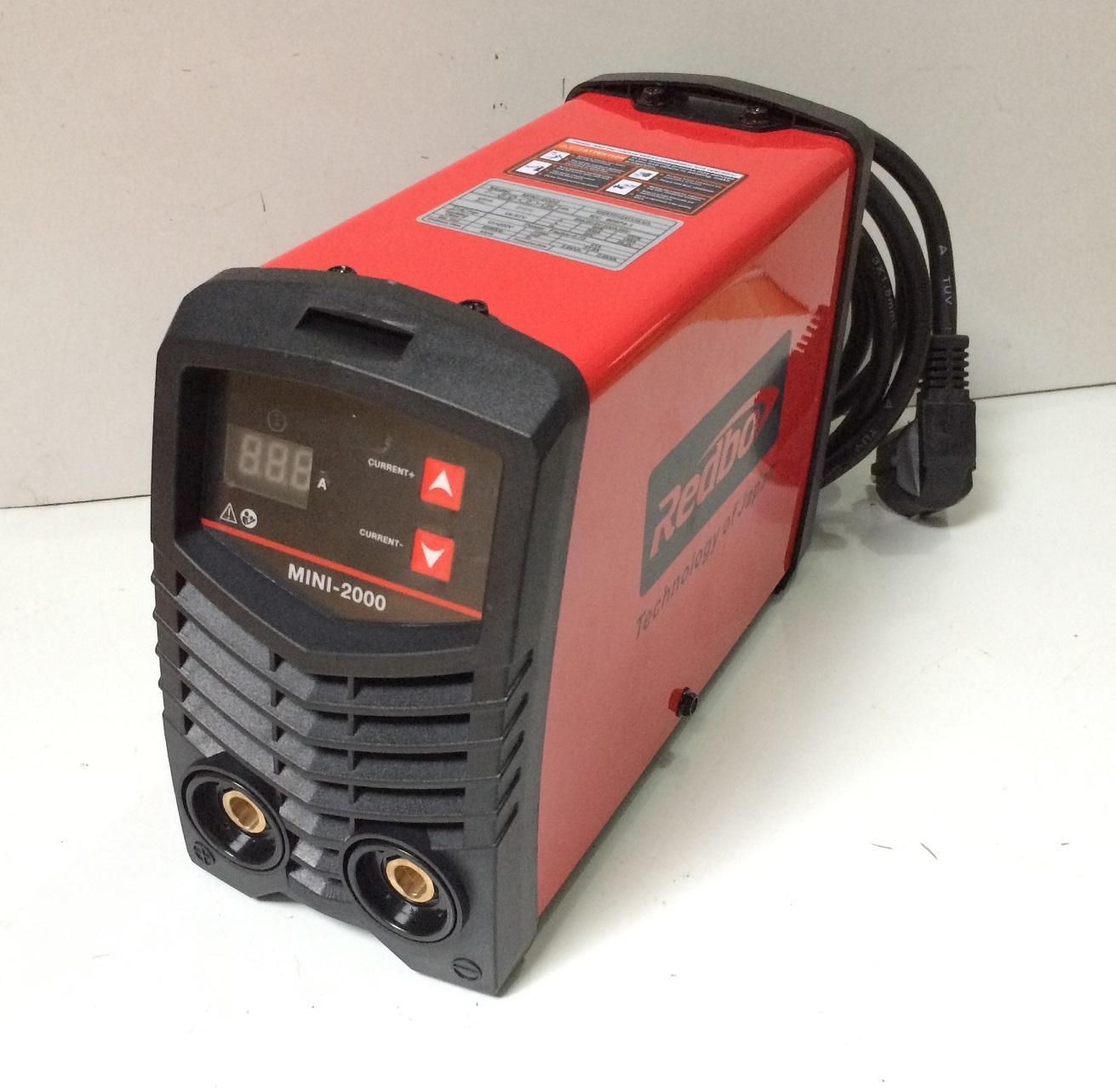 Máy hàn điện tử Redbo MINI-2000 (Đỏ)