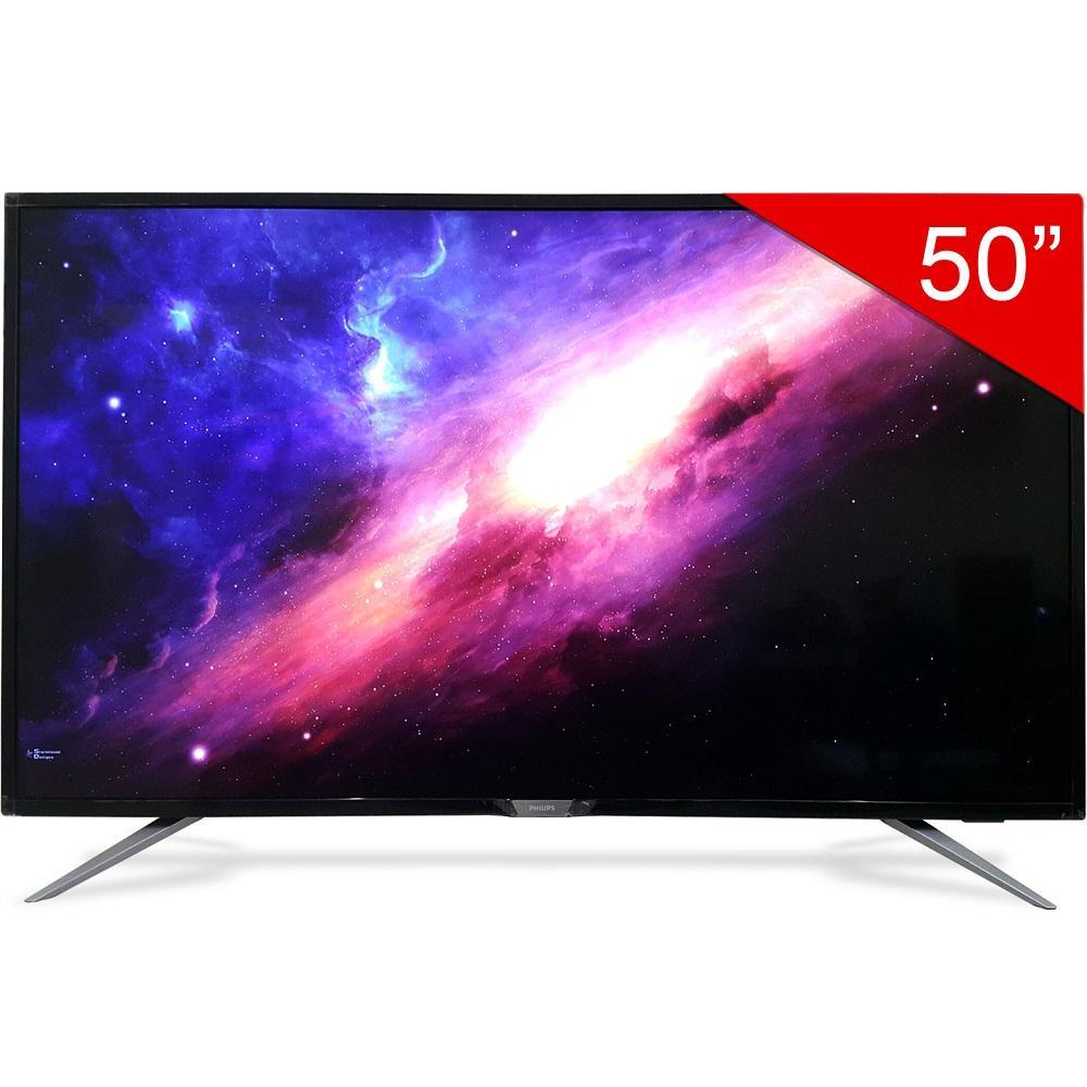 Smart TV Philips 50inch 4K Ultra HD - Model 50PUT6002S/67 (Đen) - Hãng phân phối chính thức