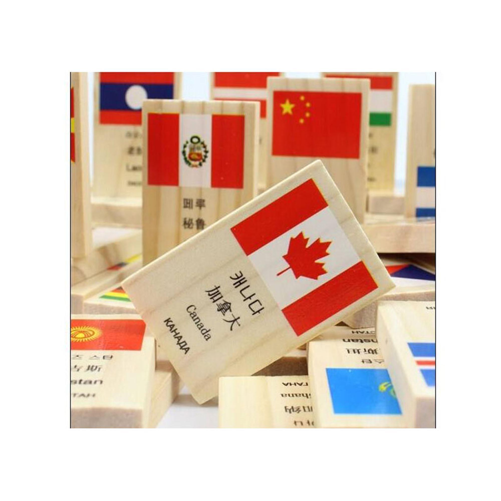 Hình ảnh Bộ 100 quân Domino cờ quốc gia