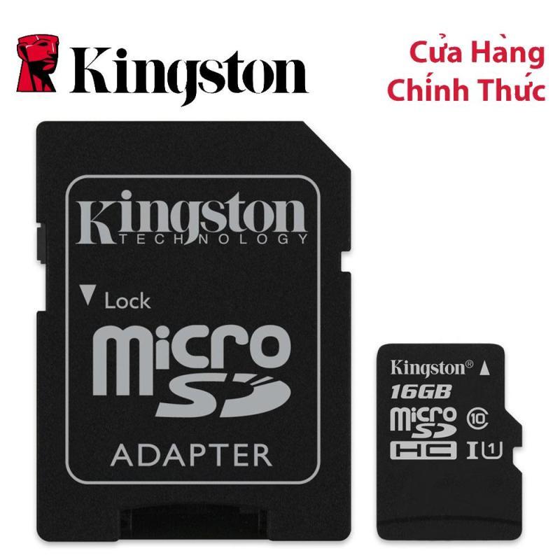 Thẻ nhớ MicroSDHC Kingston Canvas Select 16GB Class 10 U1 (SDCS/16GB)