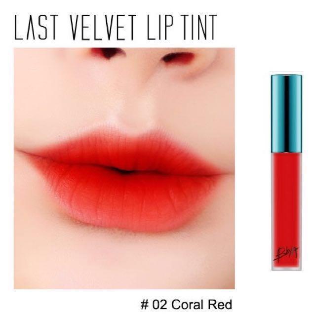 Son Tint Lì Bbia Last Velvet Lip Tint #02 Đỏ cam tốt nhất