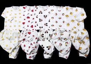 5 bộ dài tay quần áo trẻ em cho bé trai , gái 4-15kg thumbnail