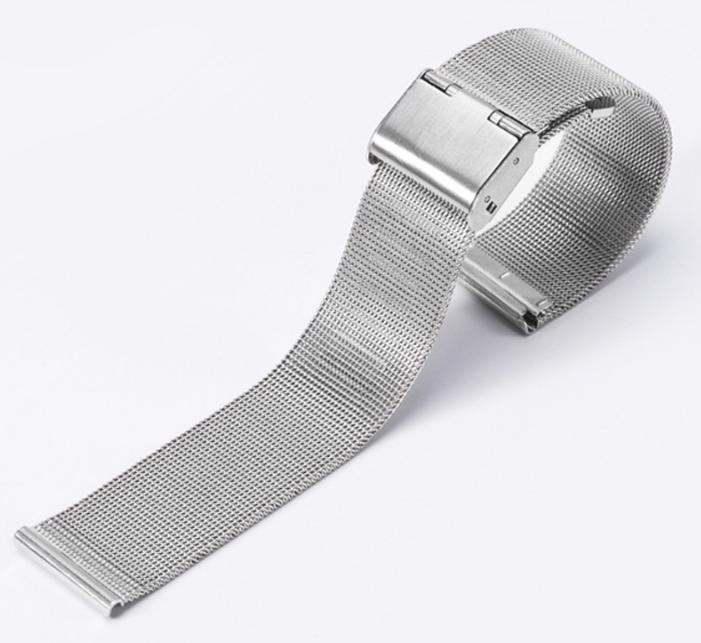 Dây thép mắt lưới (size 20mm), dây mesh cao cấp dành cho đồng hồ đeo tay bán chạy