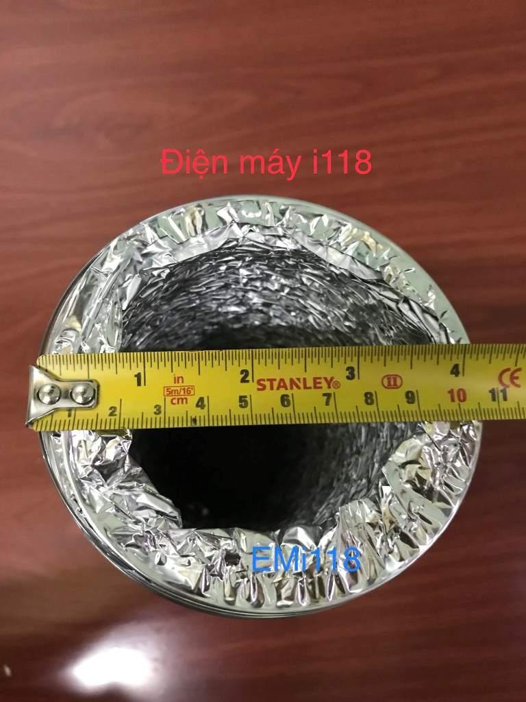 Hình ảnh Ống gió bạc mềm D100mm