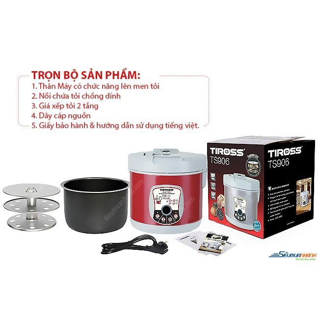 Hình ảnh Máy Làm Tỏi Đen Tiross TS906 (2 MÀU)
