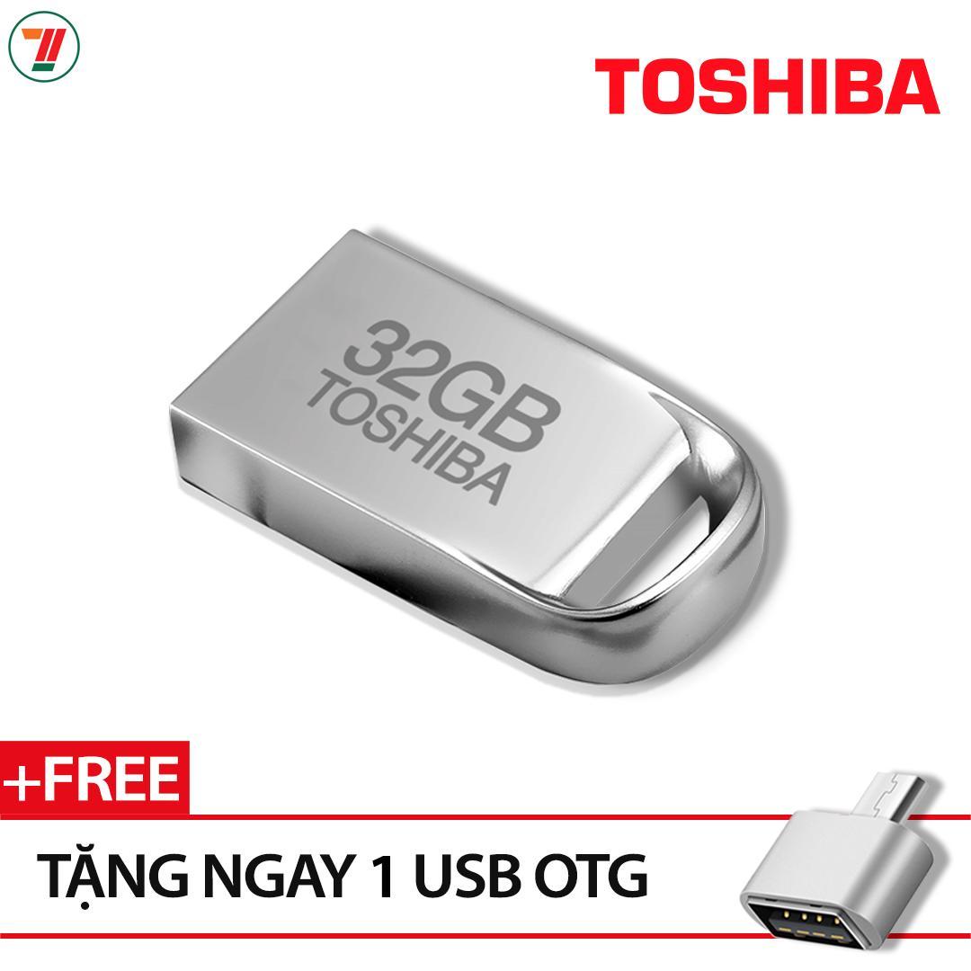 Hình ảnh USB Toshiba 32GB siêu nhỏ tiện lợi