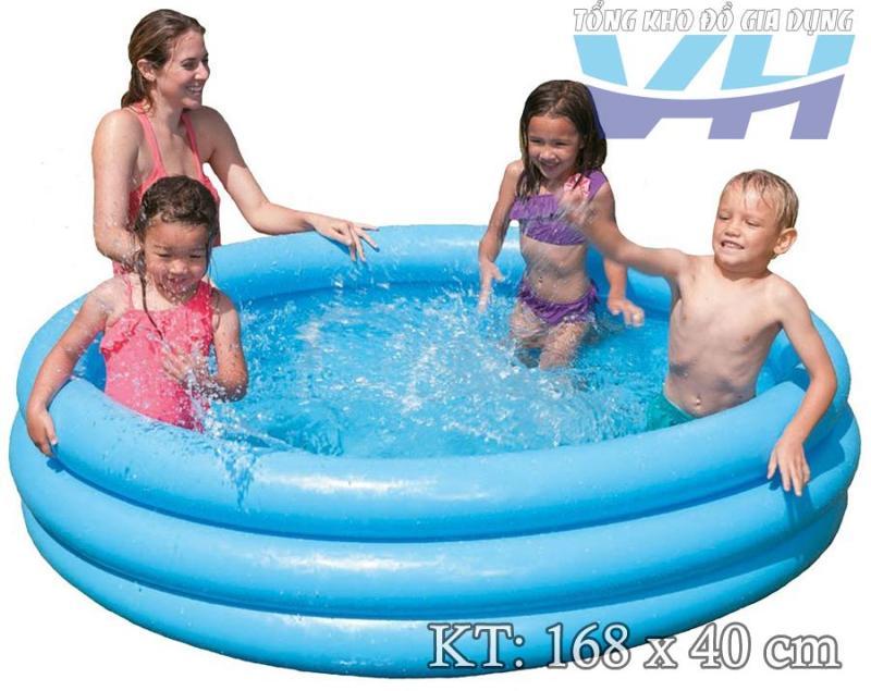 Bể bơi cho trẻ nhỏ Intex 58446 3 tầng 168x40 cm