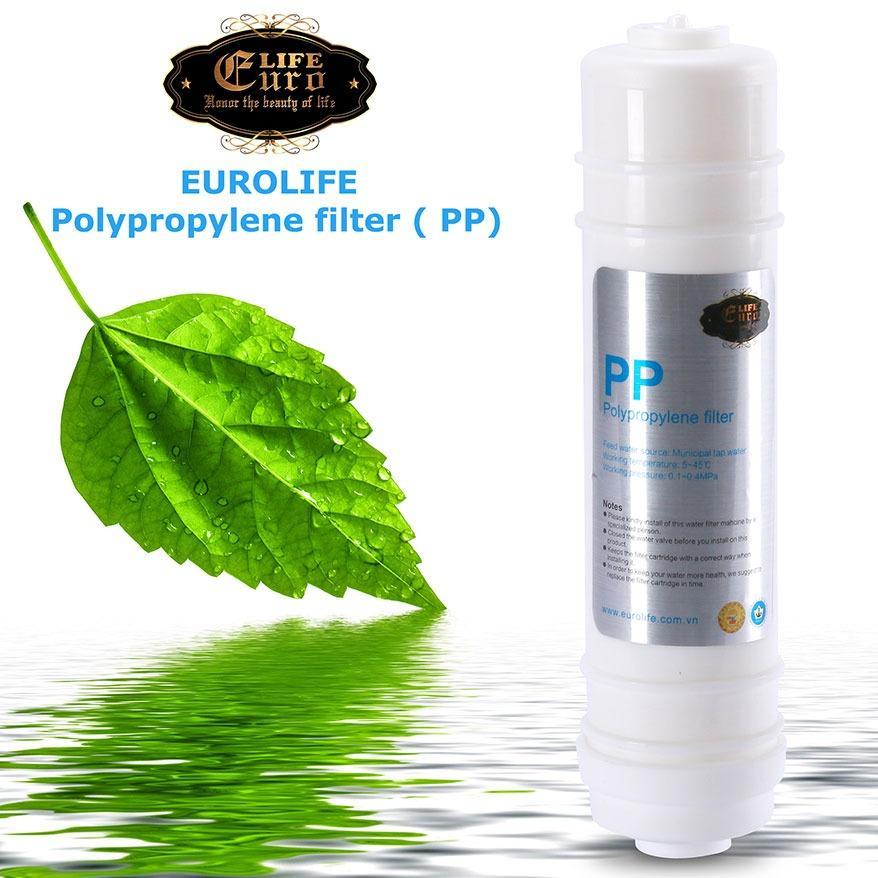 Lõi lọc PP dùng cho máy lọc Eurolife EL-UF5( Polypro Pylene Filter )