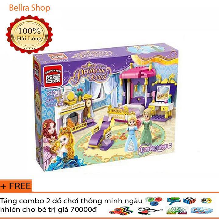 Mã Khuyến Mãi Khi Mua Lego Xếp Hình Bộ Lego Enlighten 2601/ Xếp Hình Lego Phòng Ngủ Công Chúa