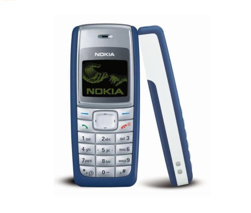 Điện thoại cổ nokia 1110i xanh(main zin hàng xuất)