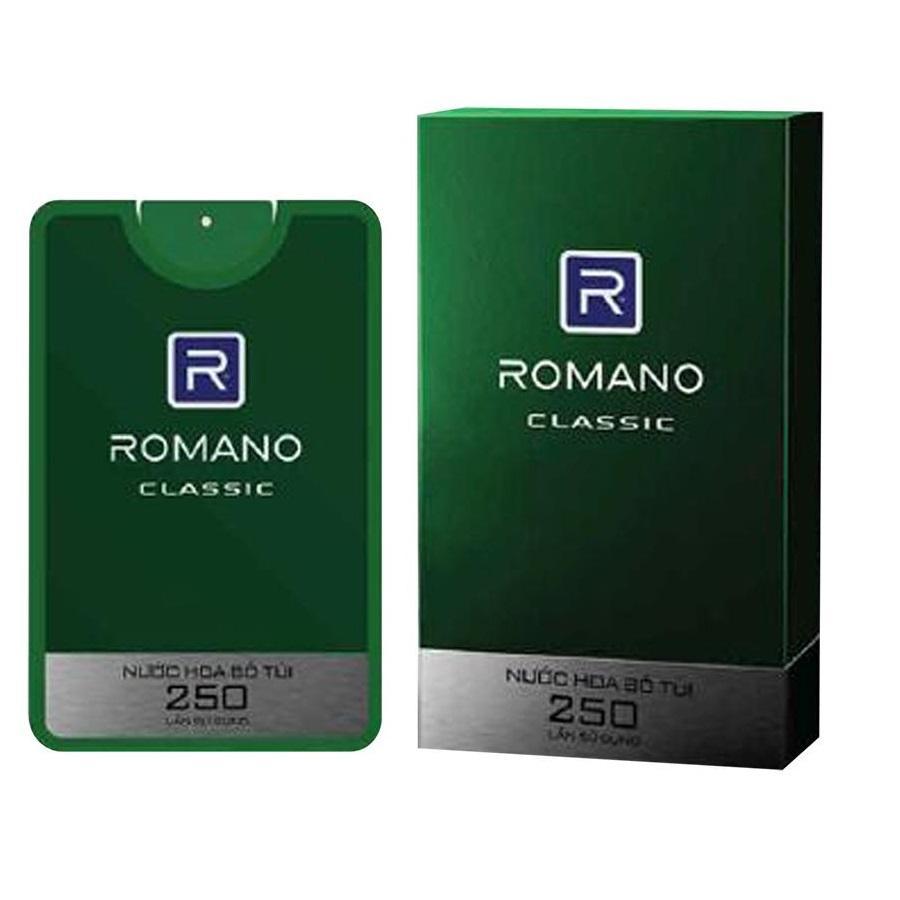 Romano - Nước hoa bỏ túi Classic 18ml