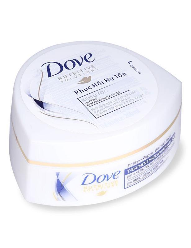 Kem Ủ Tóc Dove Phục Hồi Hư Tổn Hũ 200 ML nhập khẩu
