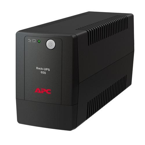 Hình ảnh Bộ Lưu Điện APC Back-UPS BX650LI-MS 650VA / 325W (Đen)