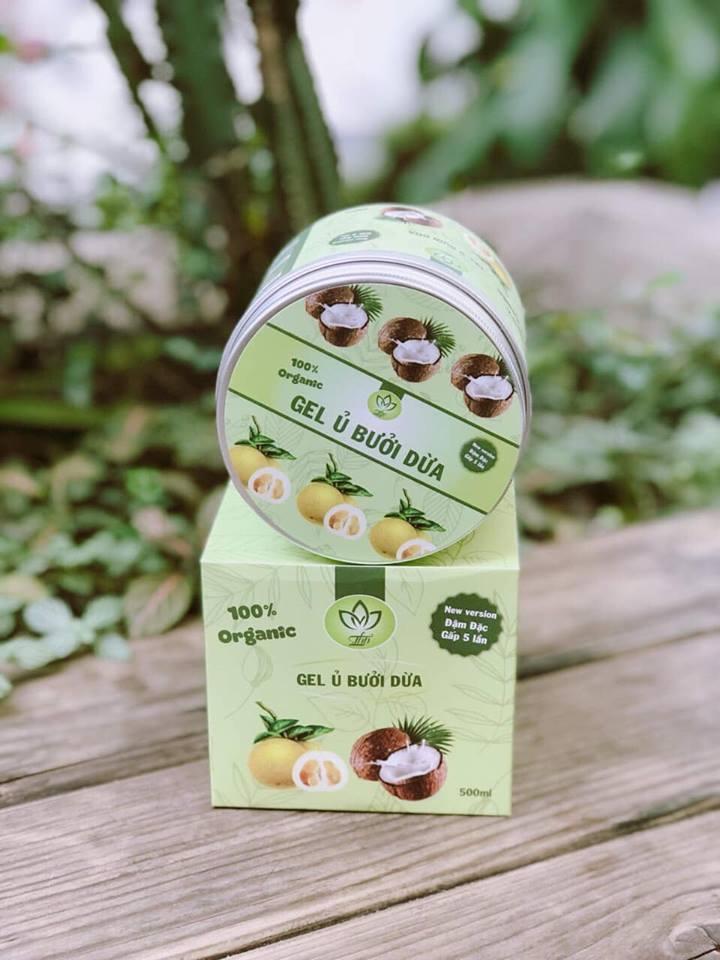 Gel Ủ Xả Bưởi Dừa 2in1 - 100% Organic tốt nhất