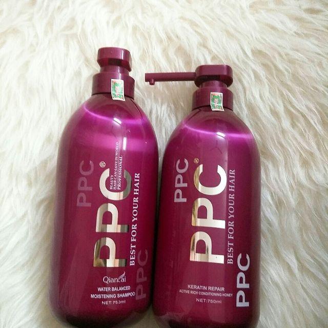 Cặp gội/xả phục hồi tóc hư tổn PPC Best For Your Hair 750ml (1 gội + 1 xả) giá rẻ