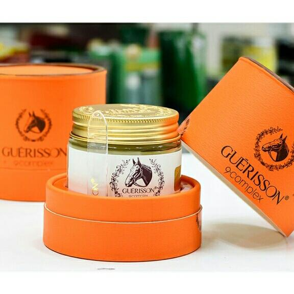 Kem dưỡng da Guerisson Horse Oil Cream 9 Complex